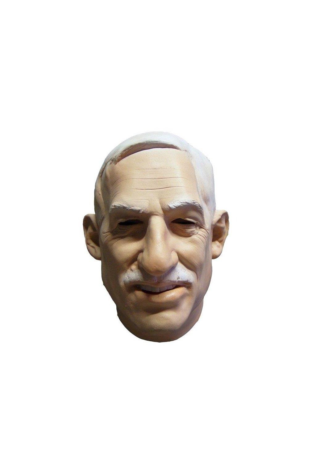 Václav Klaus - latexová maska
