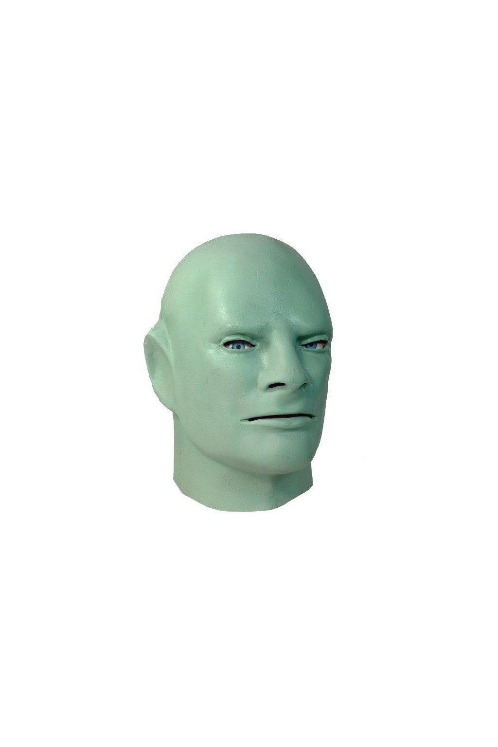 Luxusní maska Fantomas - zelená