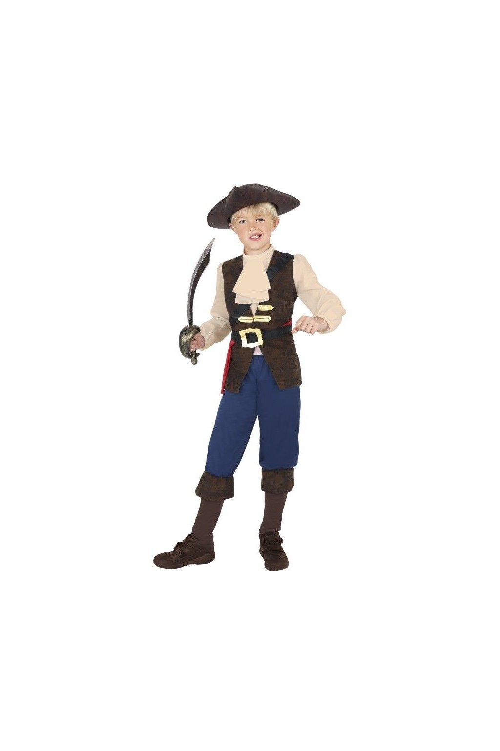 Dětský kostým - Pirát Jack
