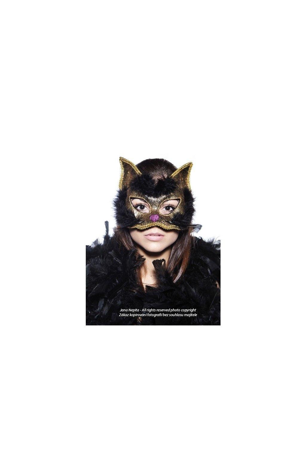 Maska kočky - Peršanka