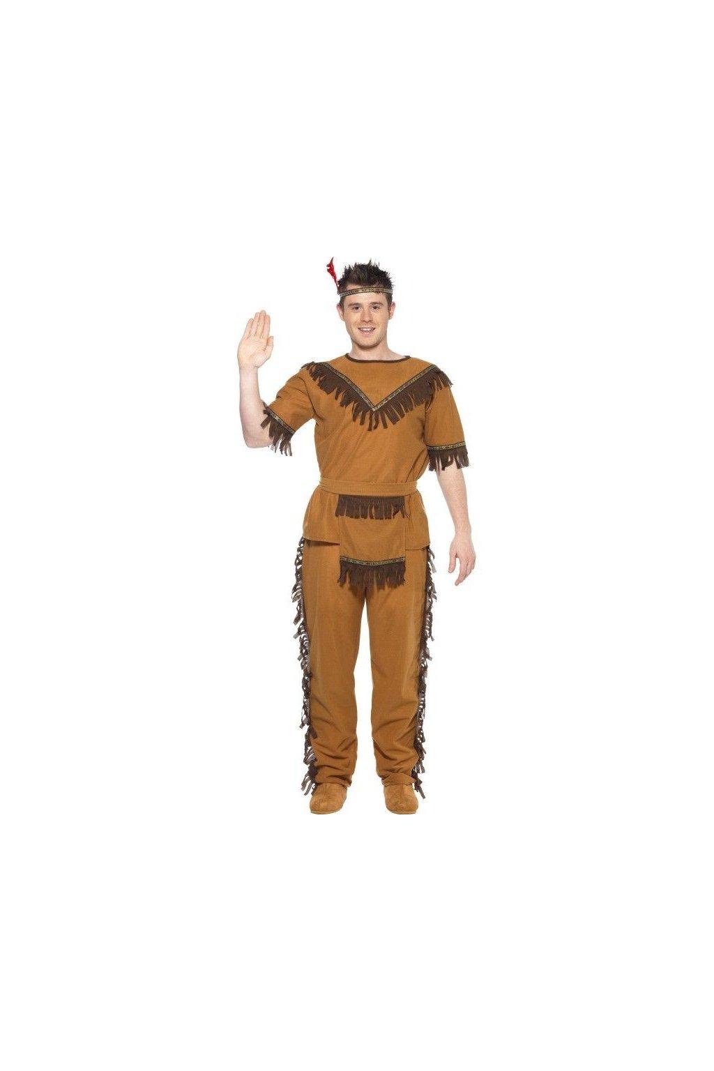 Kostým indián - levný