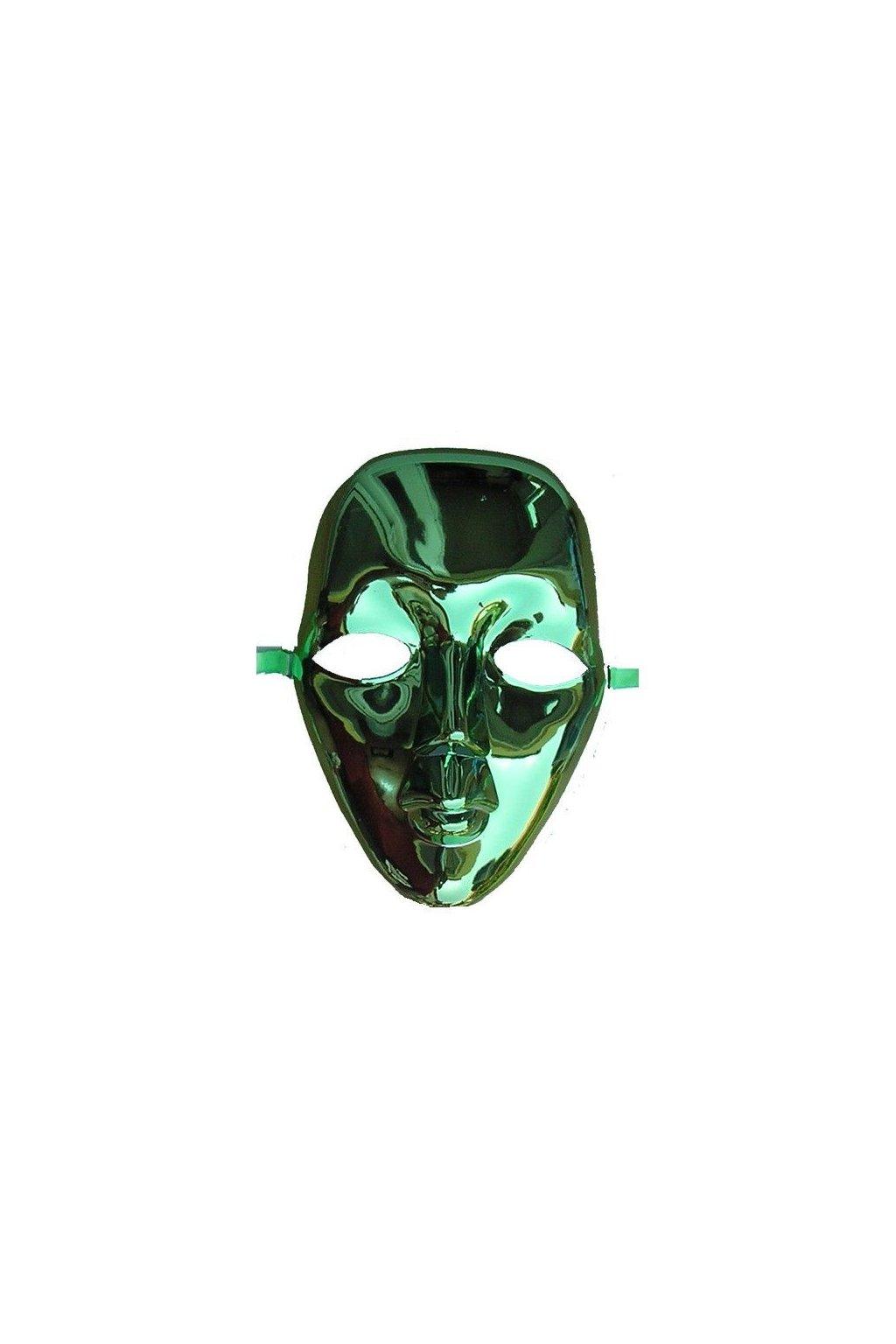 Zelená maska levná