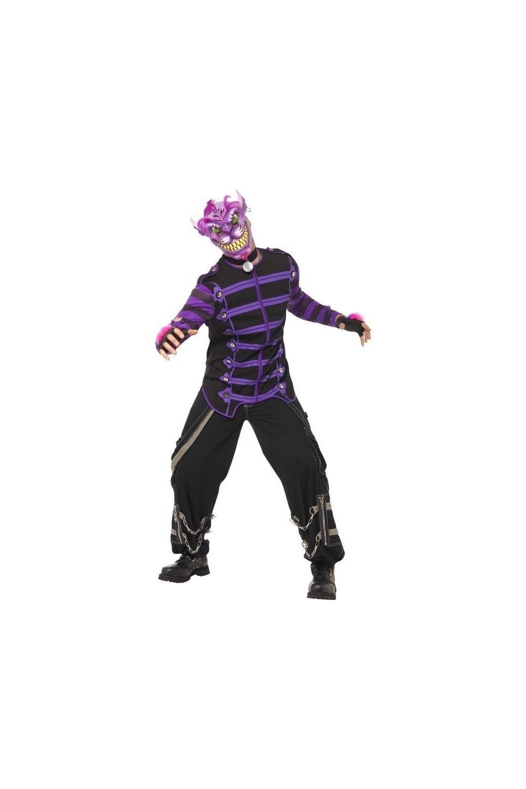 Kostým na Halloween - fialový kocour
