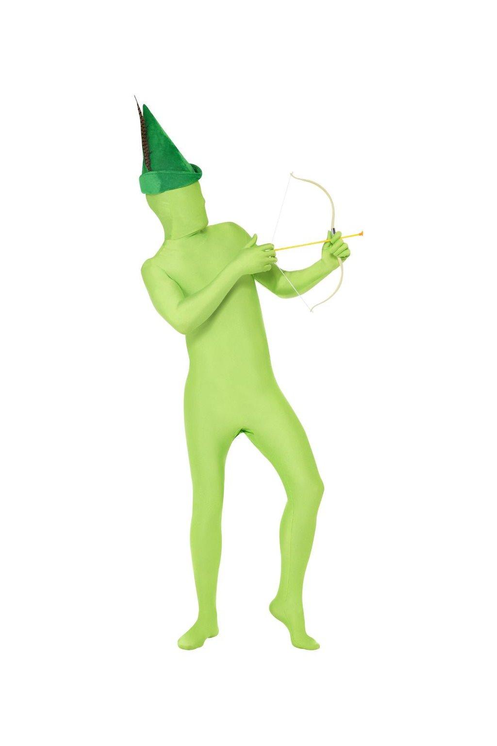 Kostým druhá kůže zelená