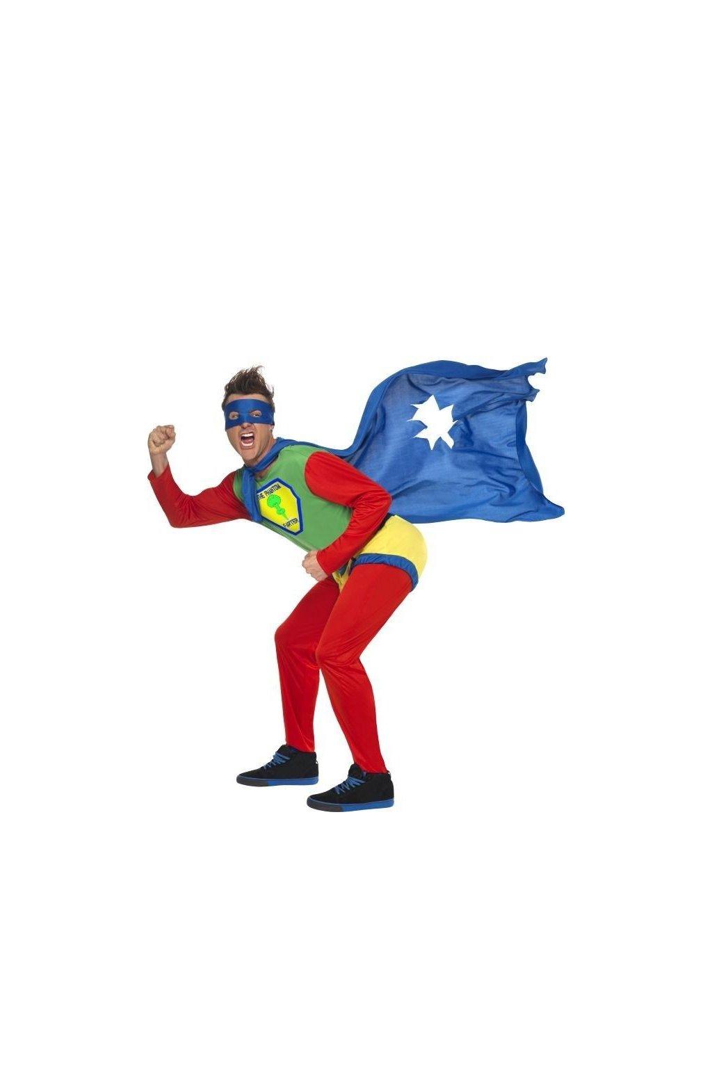Kostým prdící fantom superhrdina