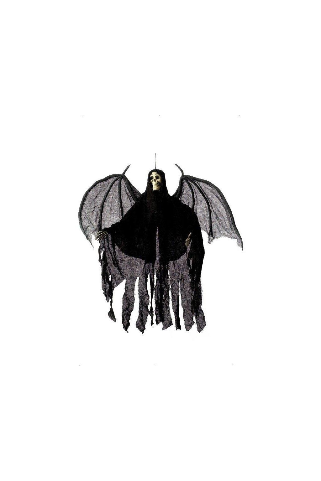 Závěsná dekorace - Smrták s pláštěm a křídly