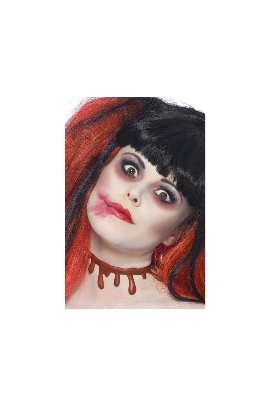 Krvácející řez - hororové zranění