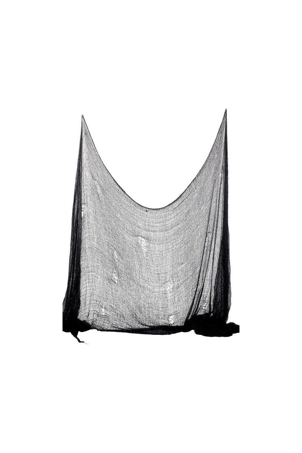 Hororové sukno černé 300 x 75