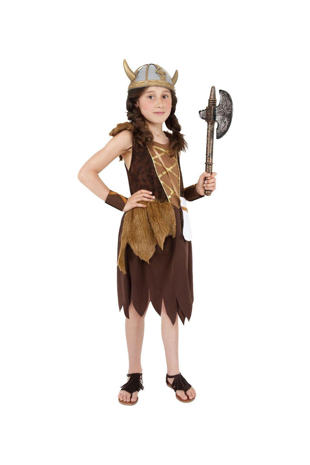 Viking - dětský dívčí karnevalový kostým