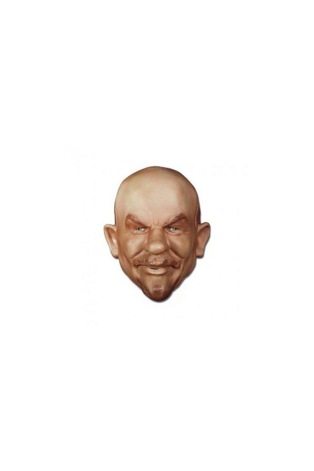 Latexová maska Lenin - Iljič