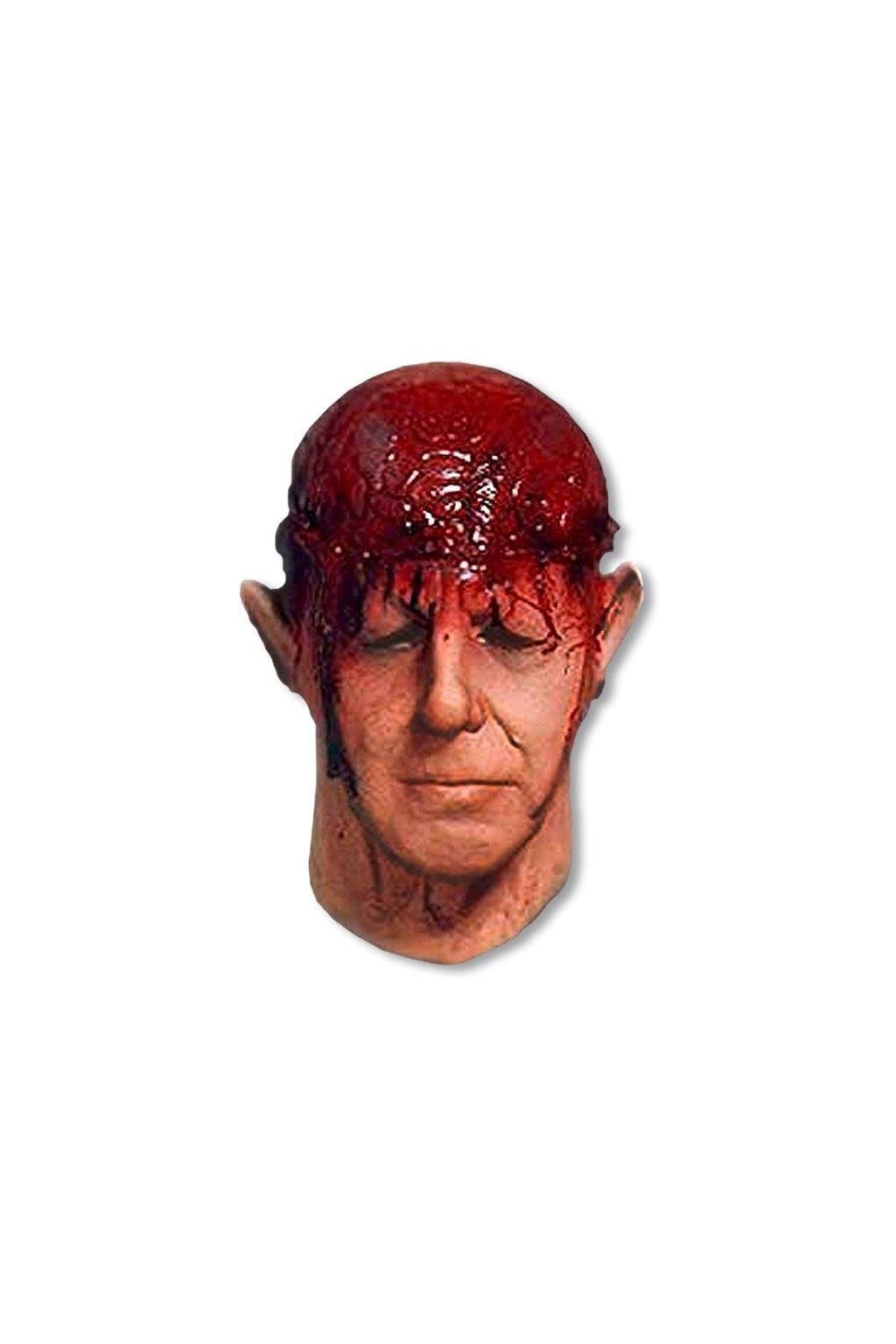 Maska otevřená hlava - mozek