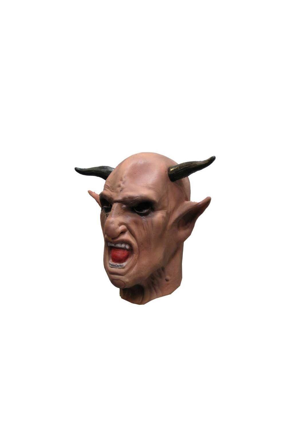Maska ďábel - deluxe