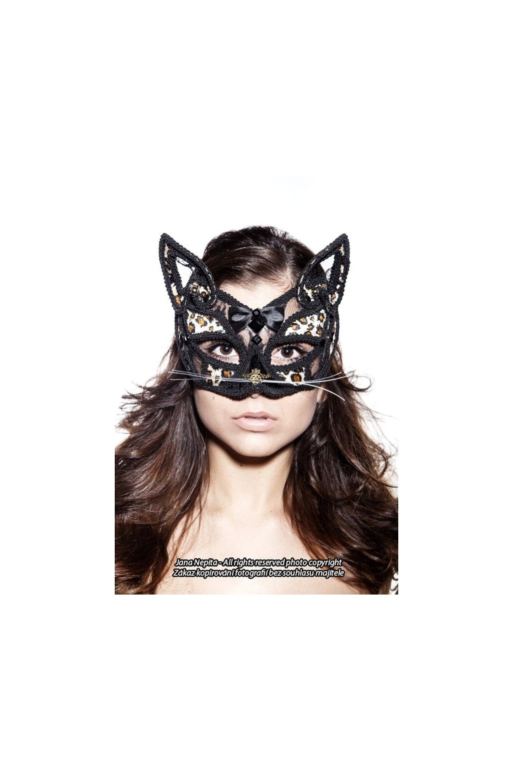 Maska Leopard - deluxe
