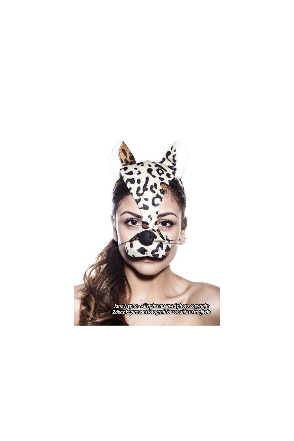 Maska Leoparda