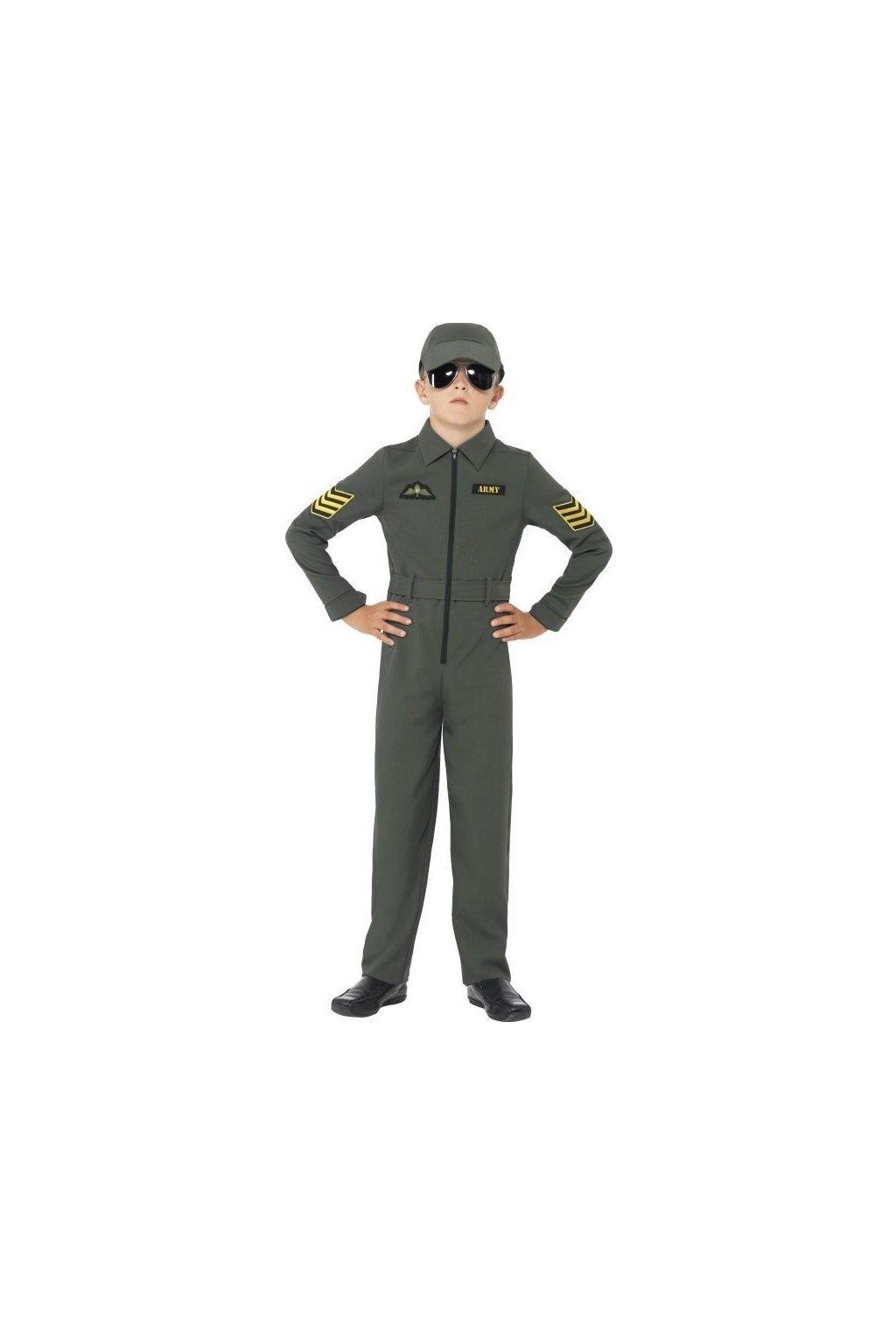 Dětský kostým Top Gun letec