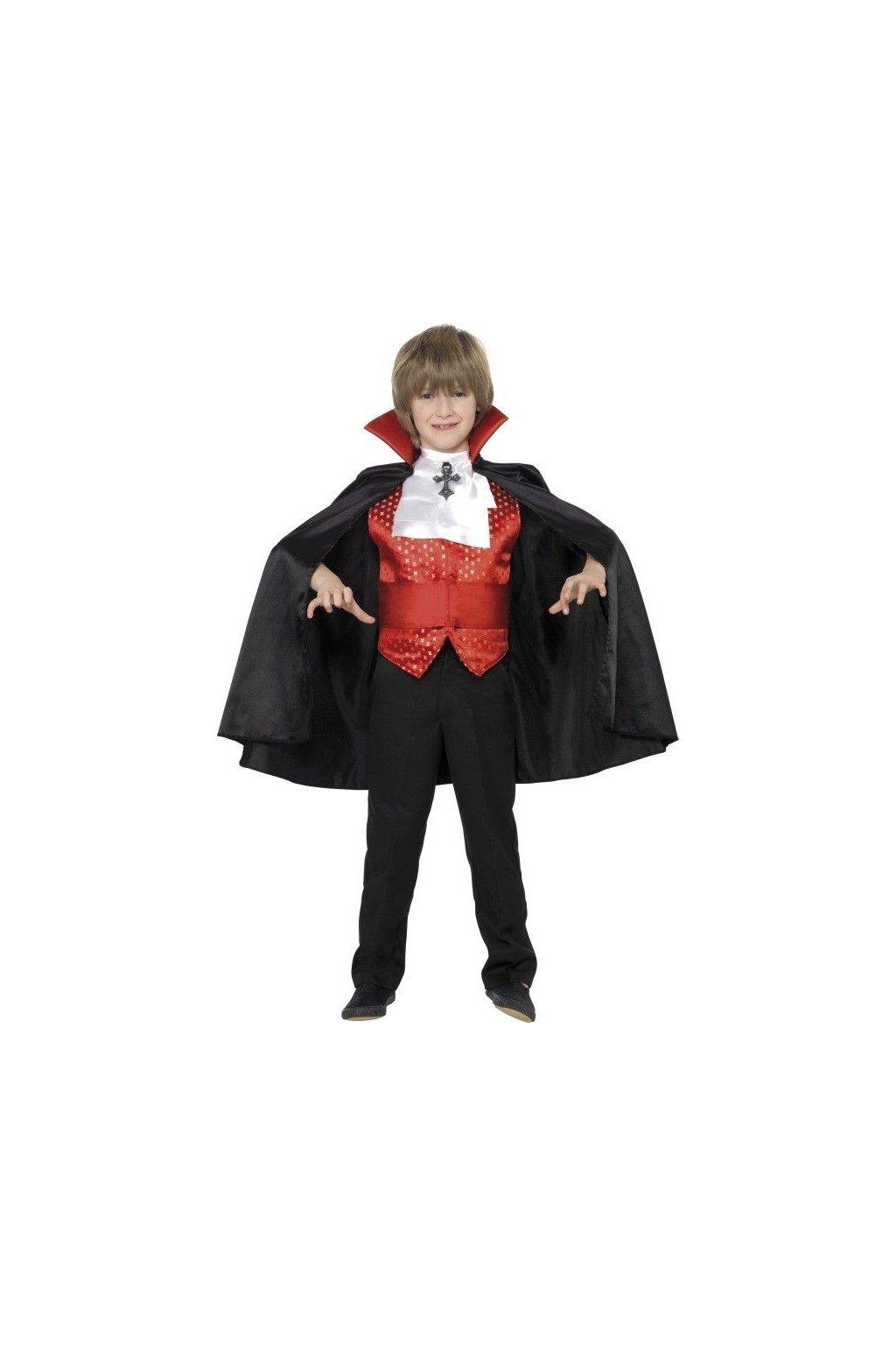 Dětský kostým - upír Drákula