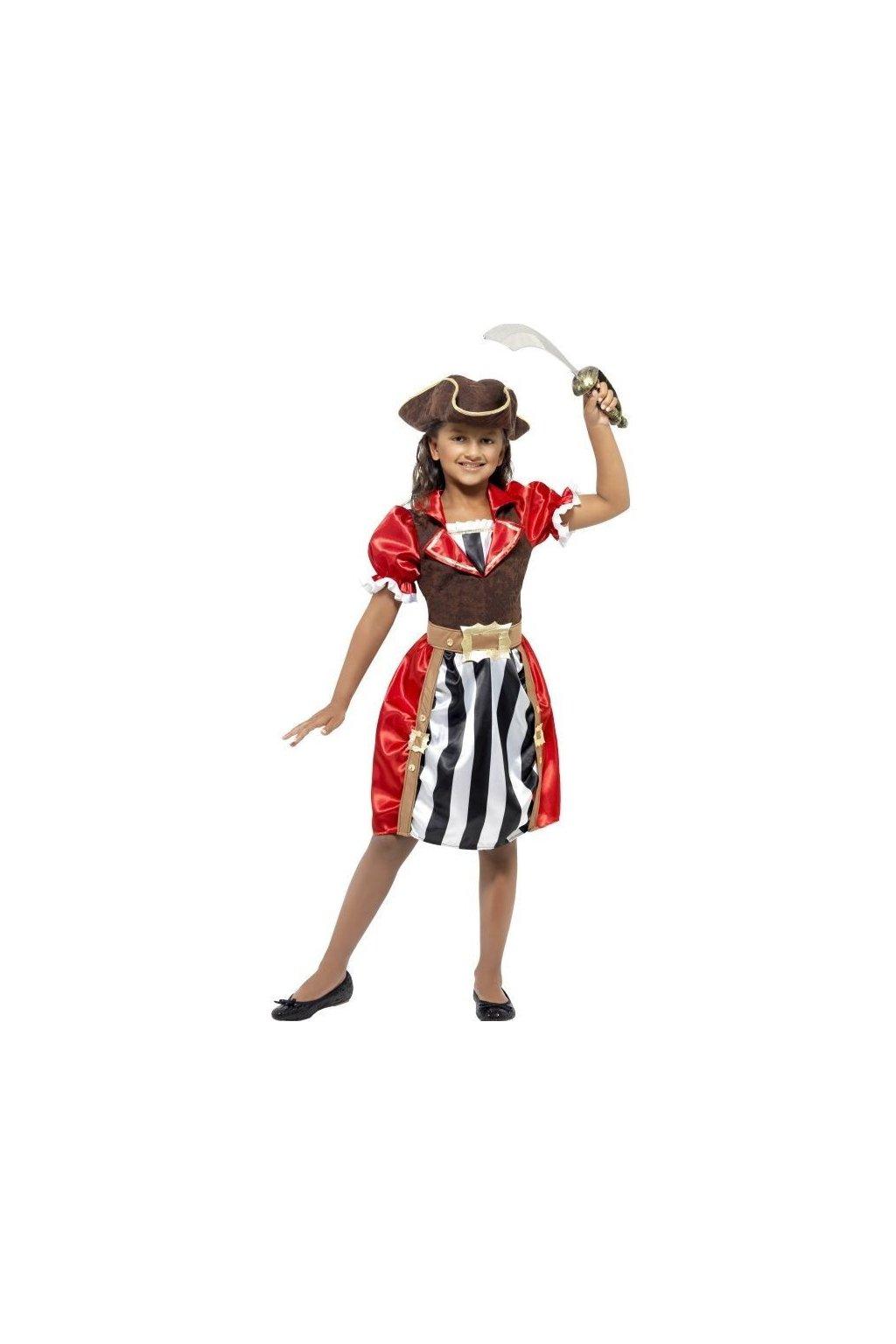 Maškarní kostým pirátka
