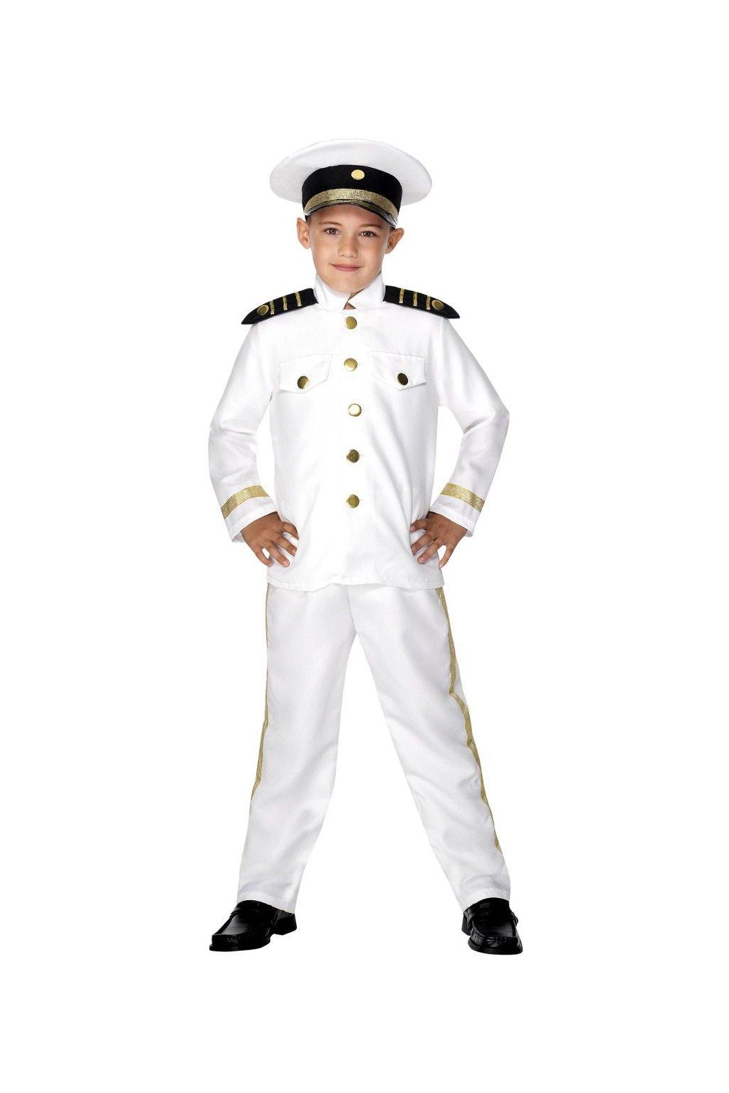Dětský kostým - Námořní kapitán