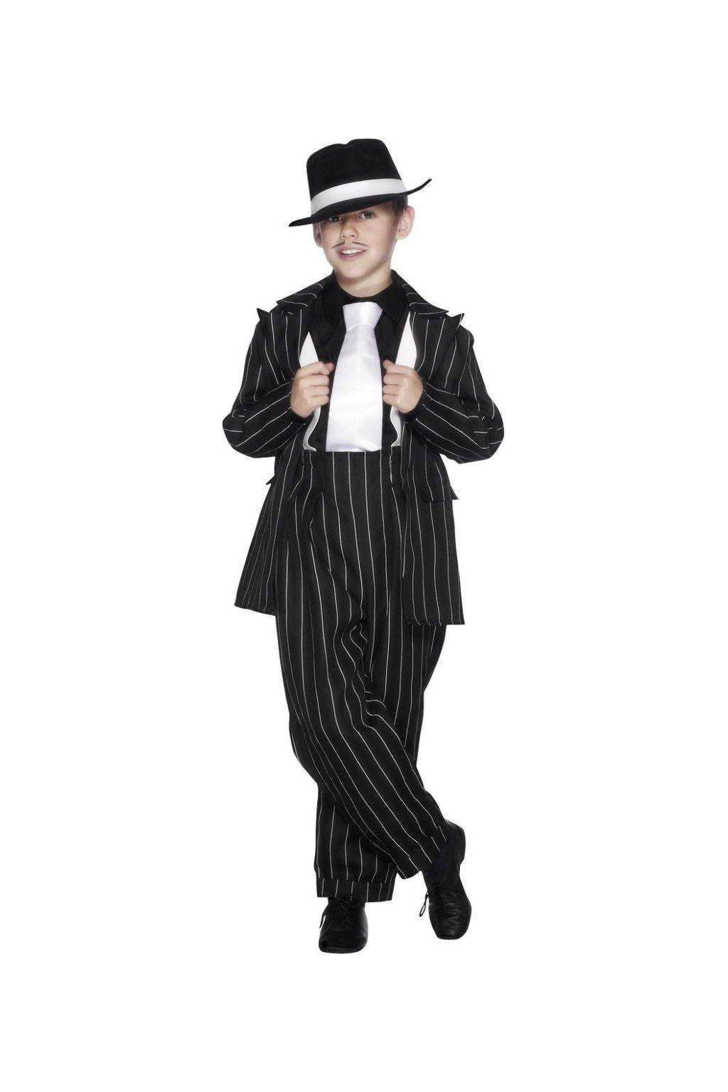 Dětský kostým mafián 20. léta