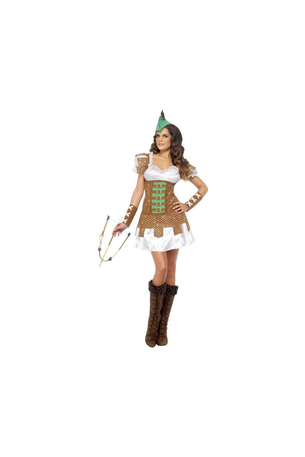 Kostým lesní žena