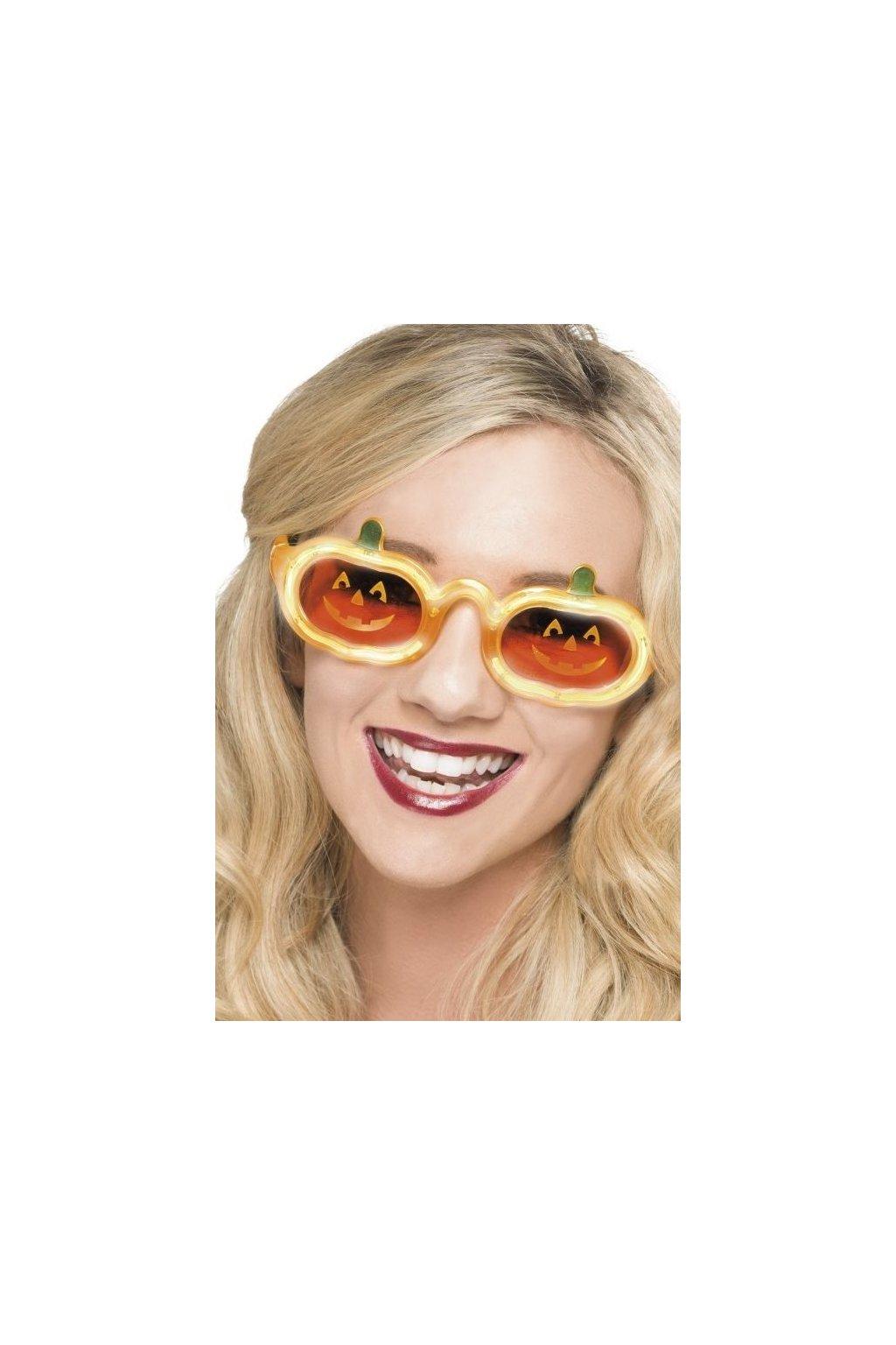 Brýle dýně svítící