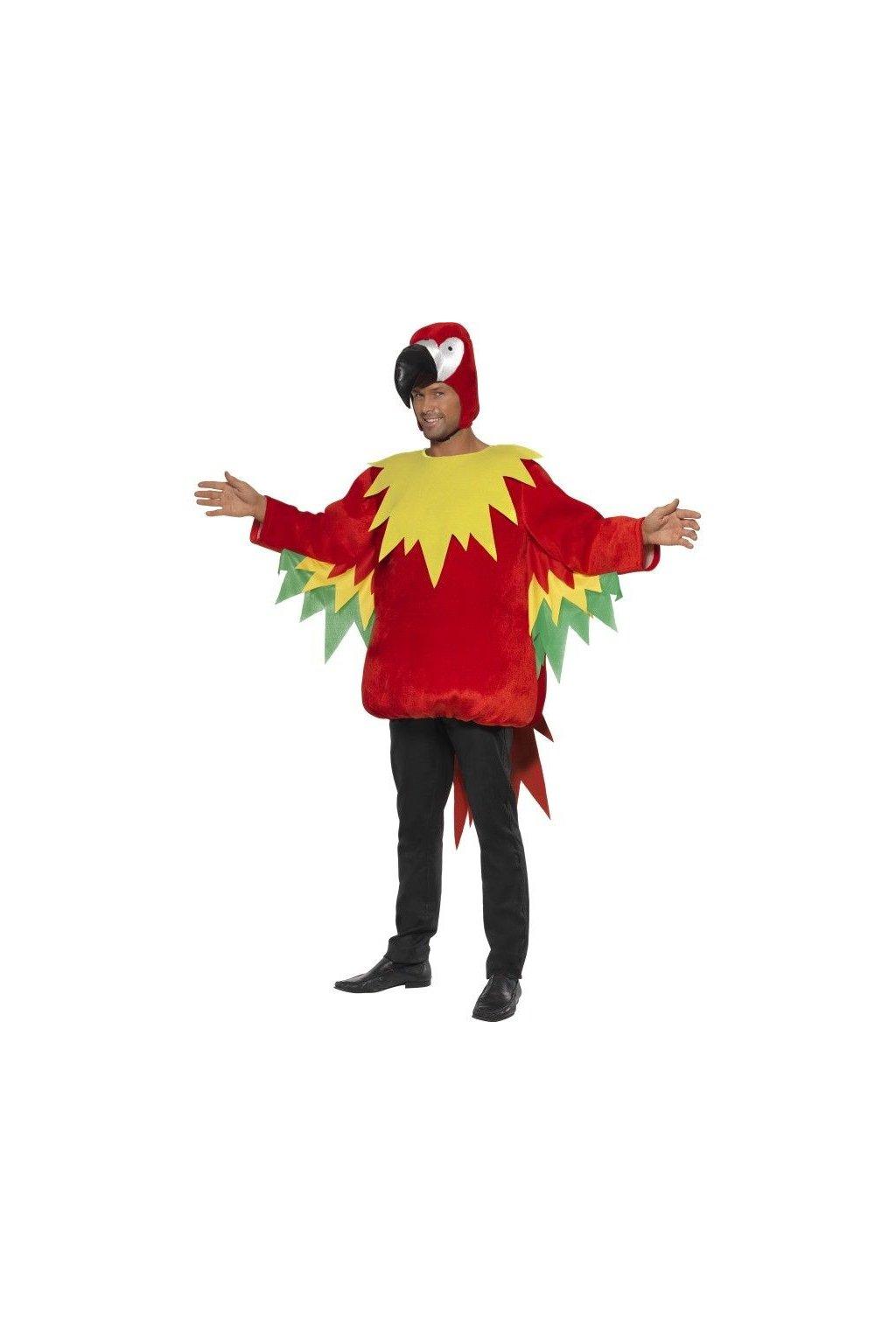 Kostým papoušek
