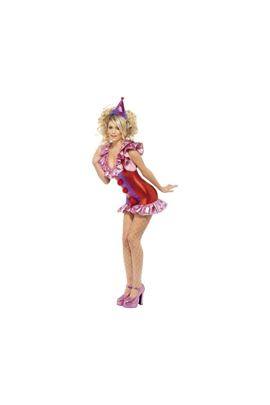 Sexy kostým klauna
