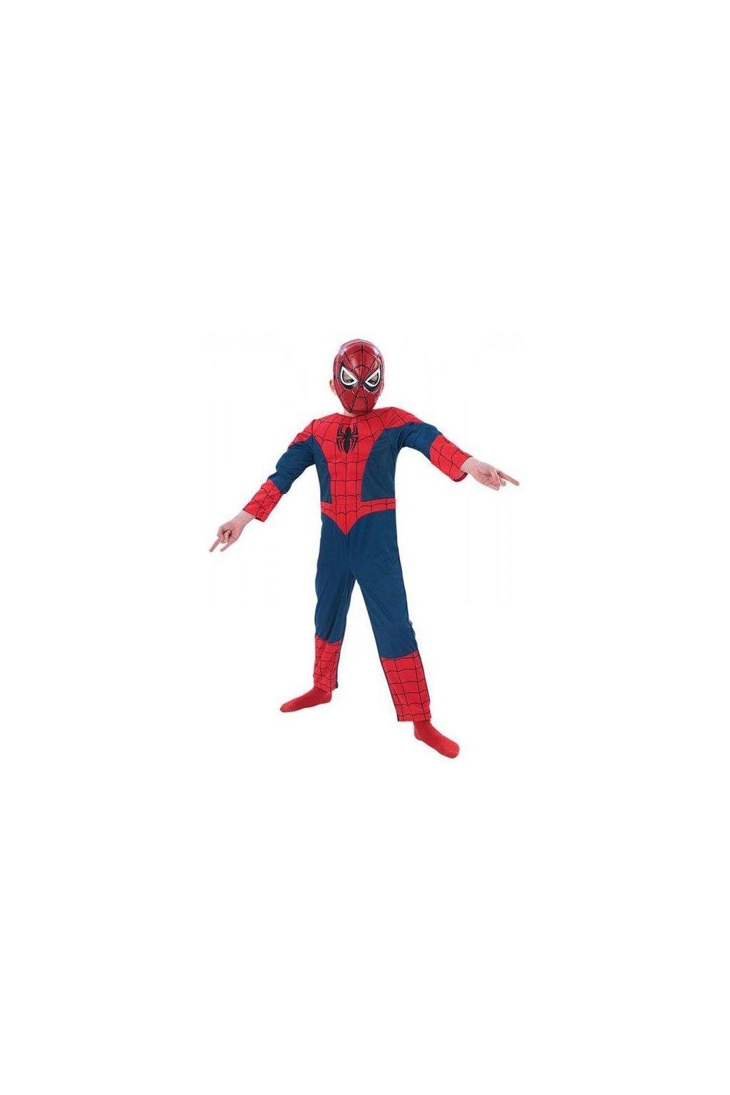 Dětský kostým Spiderman licenční