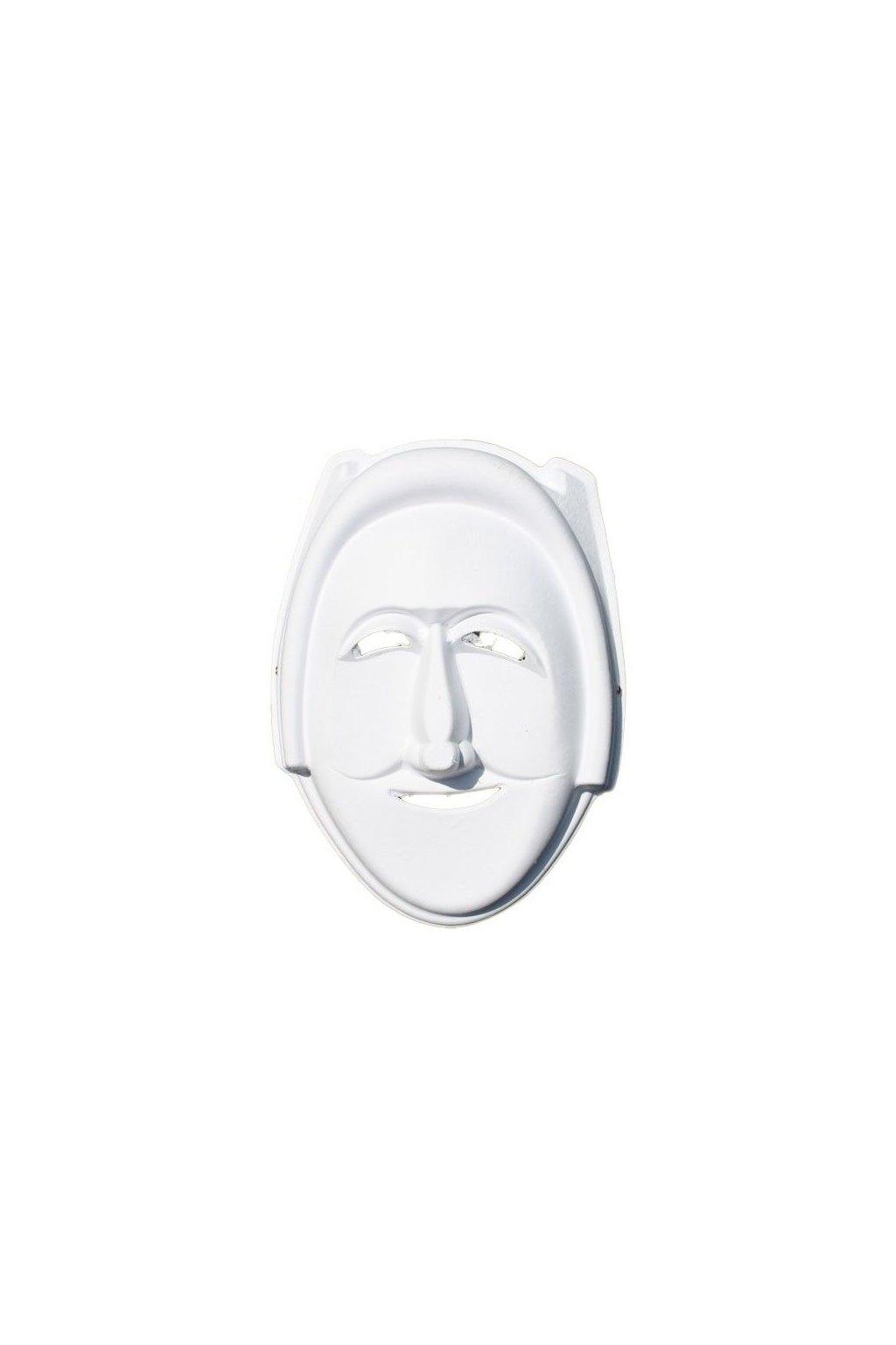 Maska k domalování - čarodějnice