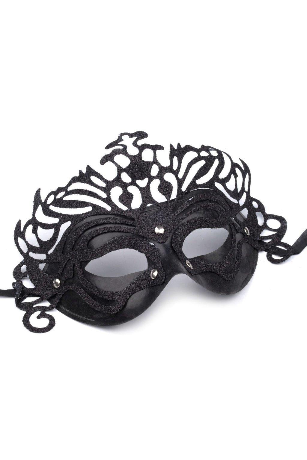 Maska černá labuť