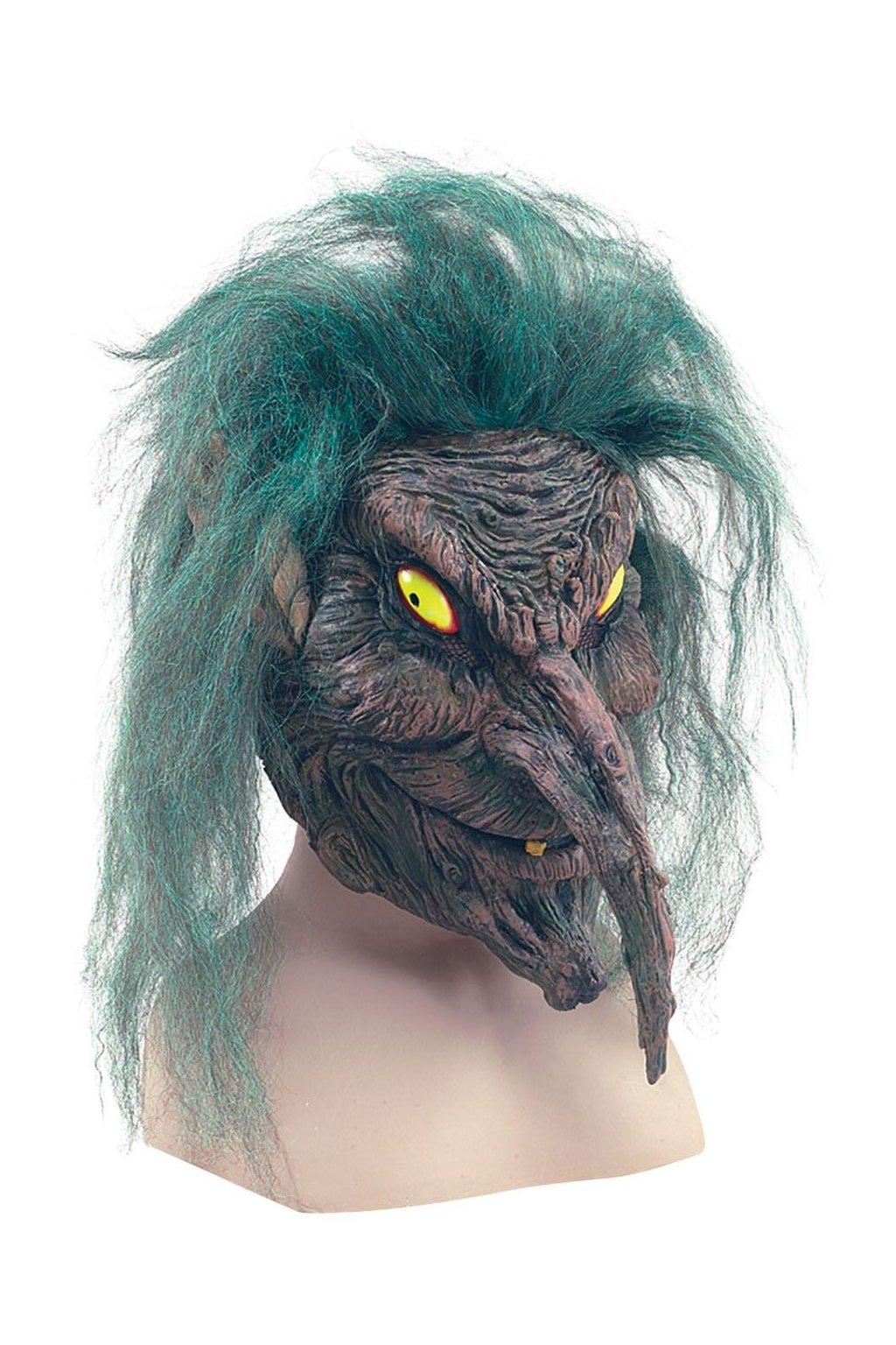 Maska čarodějnice z bažin