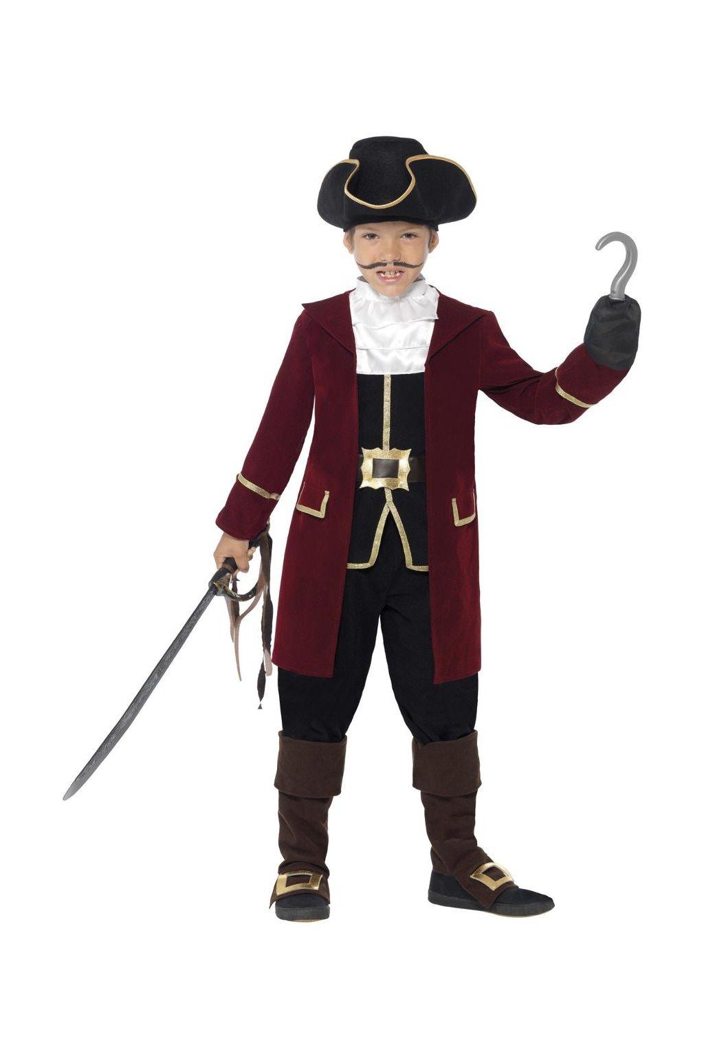 Dětský kostým Pirát kapitán