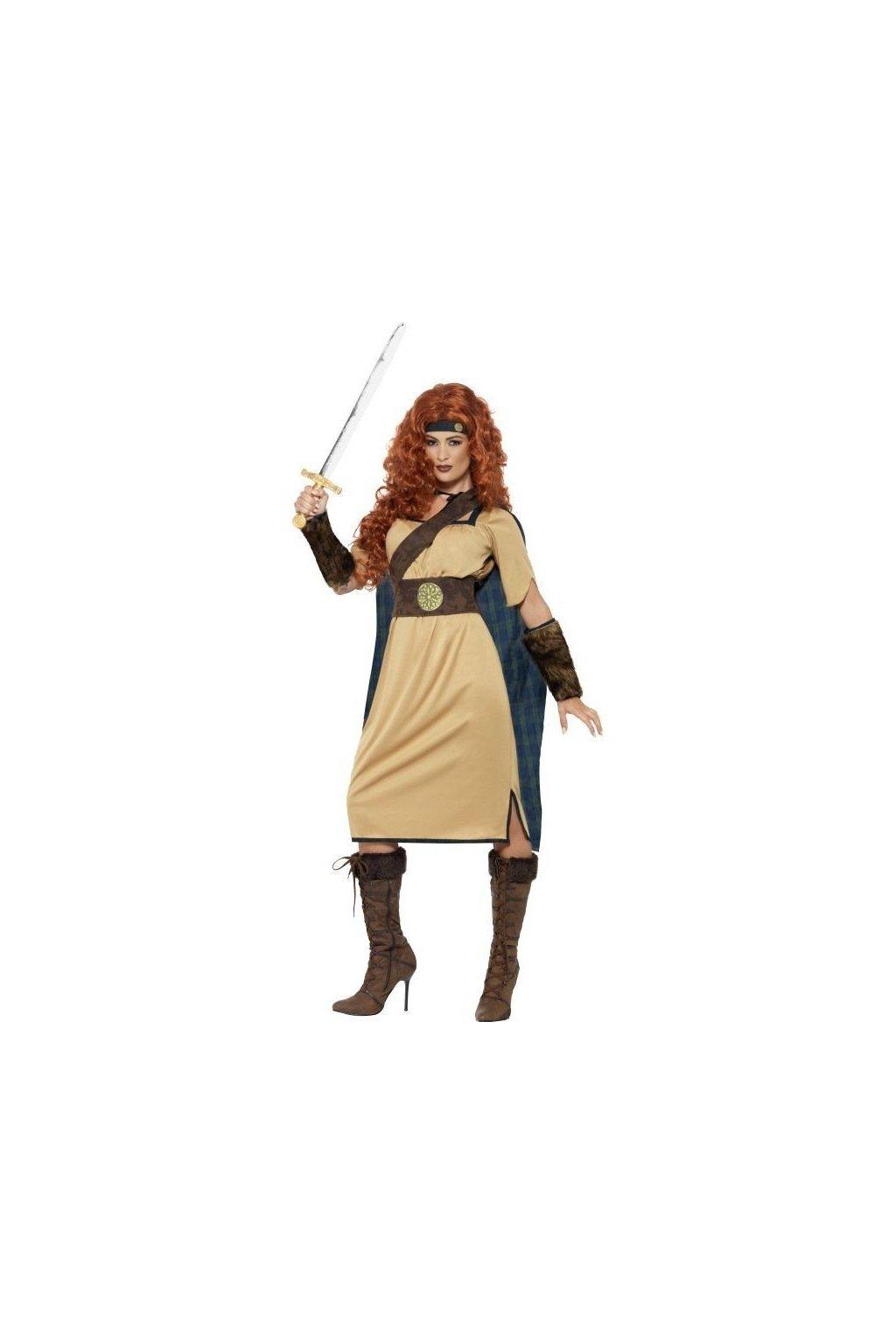 Kostým - Královna válečnice