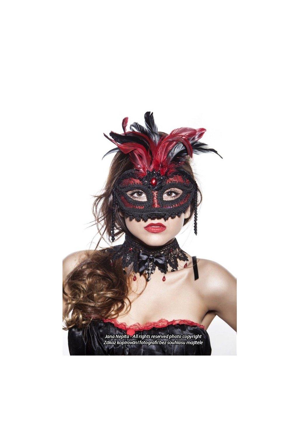 Exkluzivní plesová maska