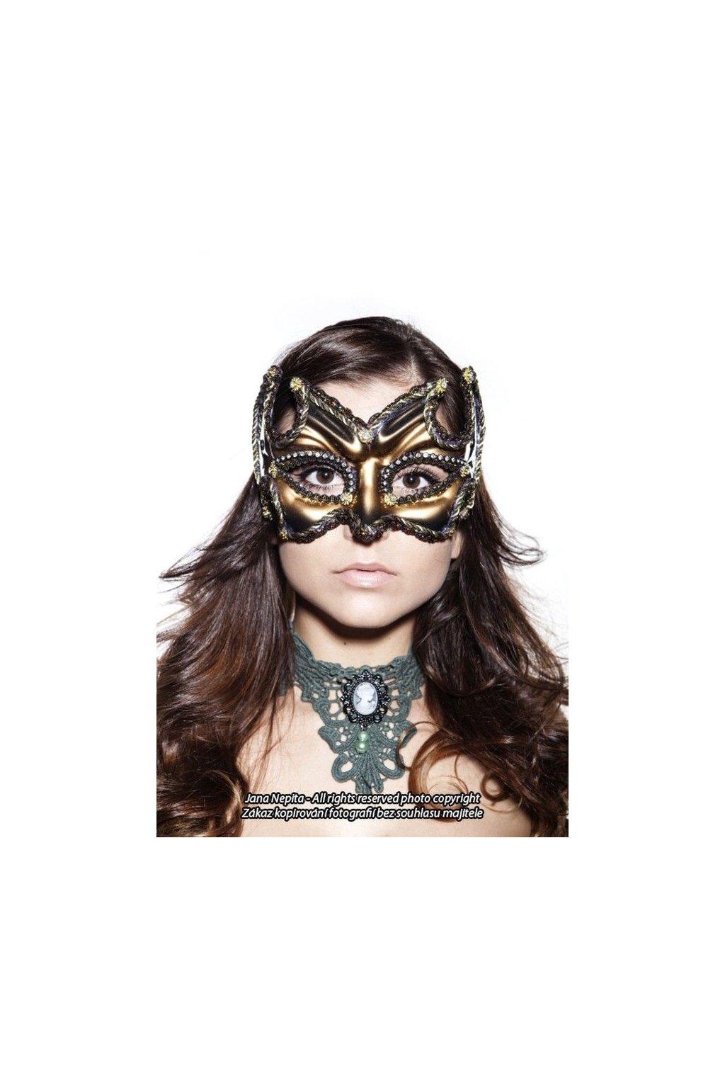 Benátská maska dámská i pánská