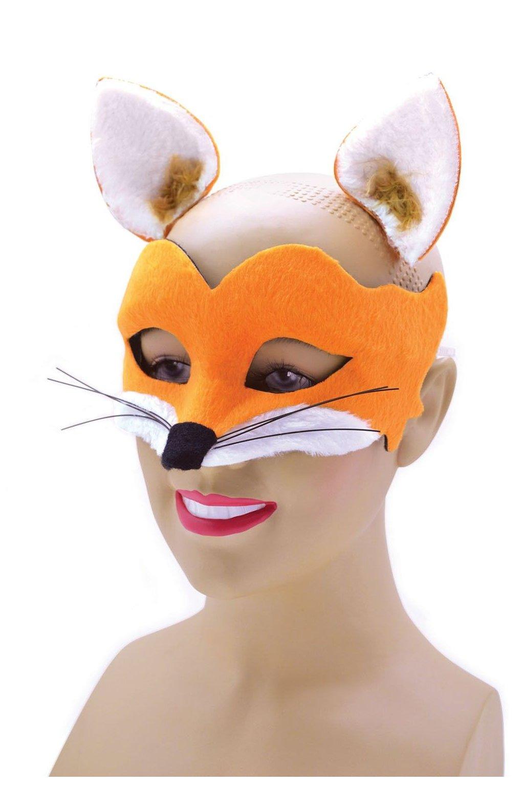 Maska liška - set s oušky