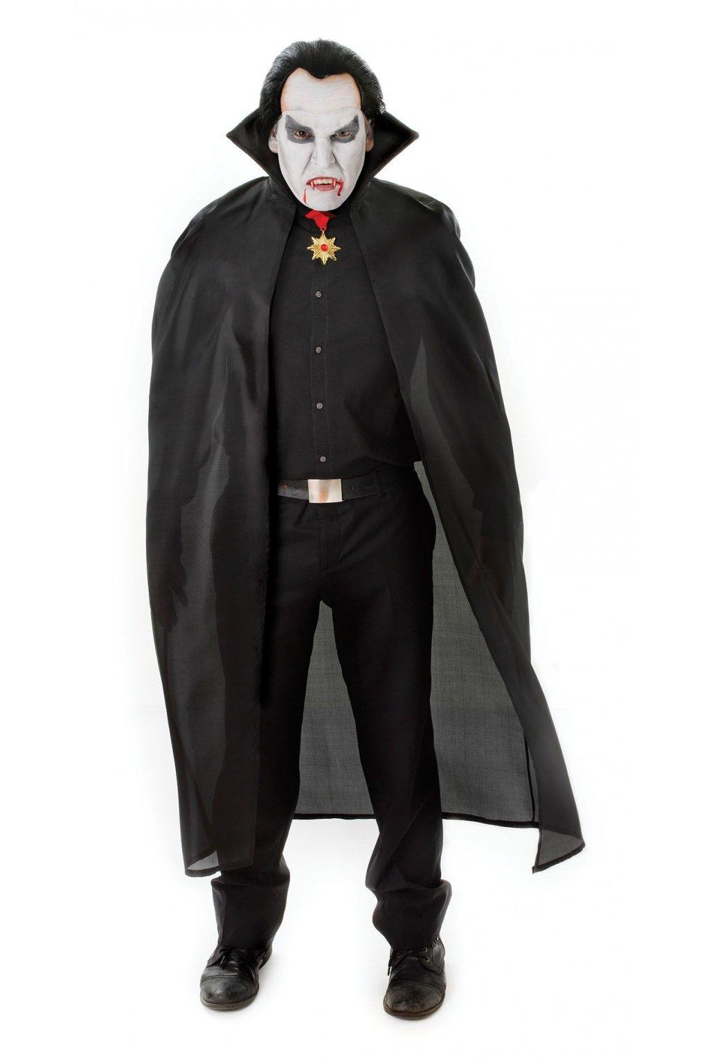 Upírský plášť - černý