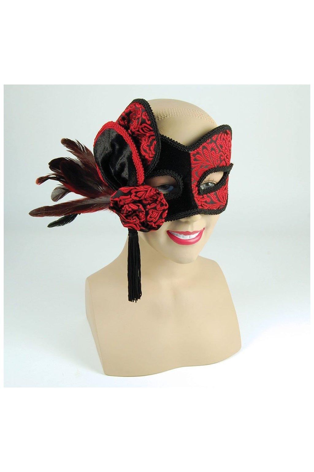 Viktoriánská luxusní maska