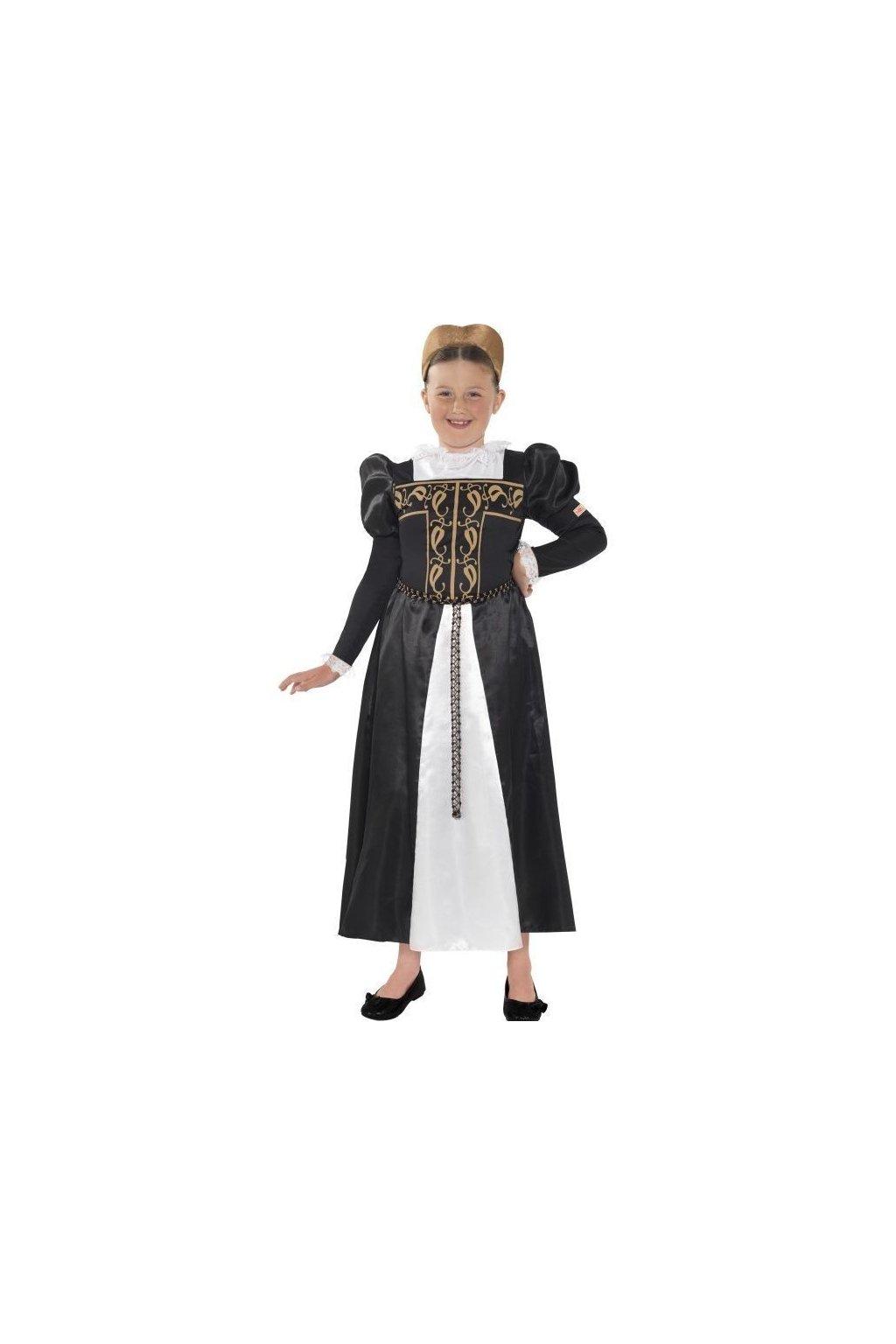 Dětský kostým Mary Stuart - Horrible Histories
