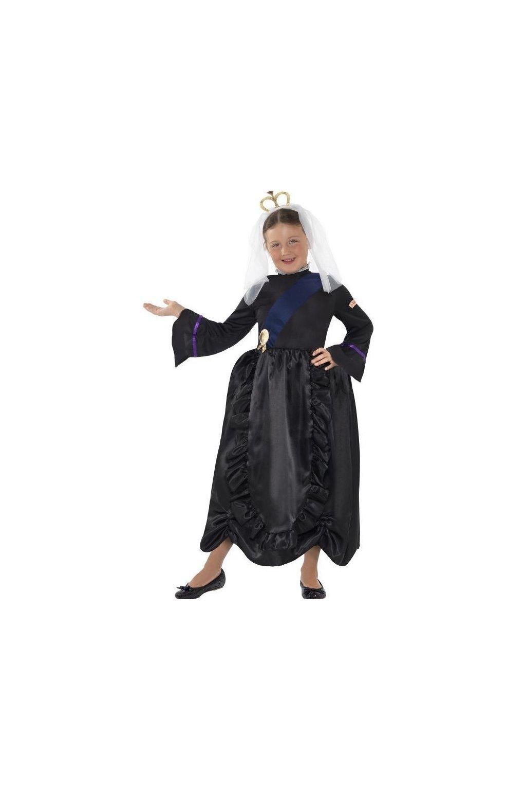Dětský kostým - Královna Victoria