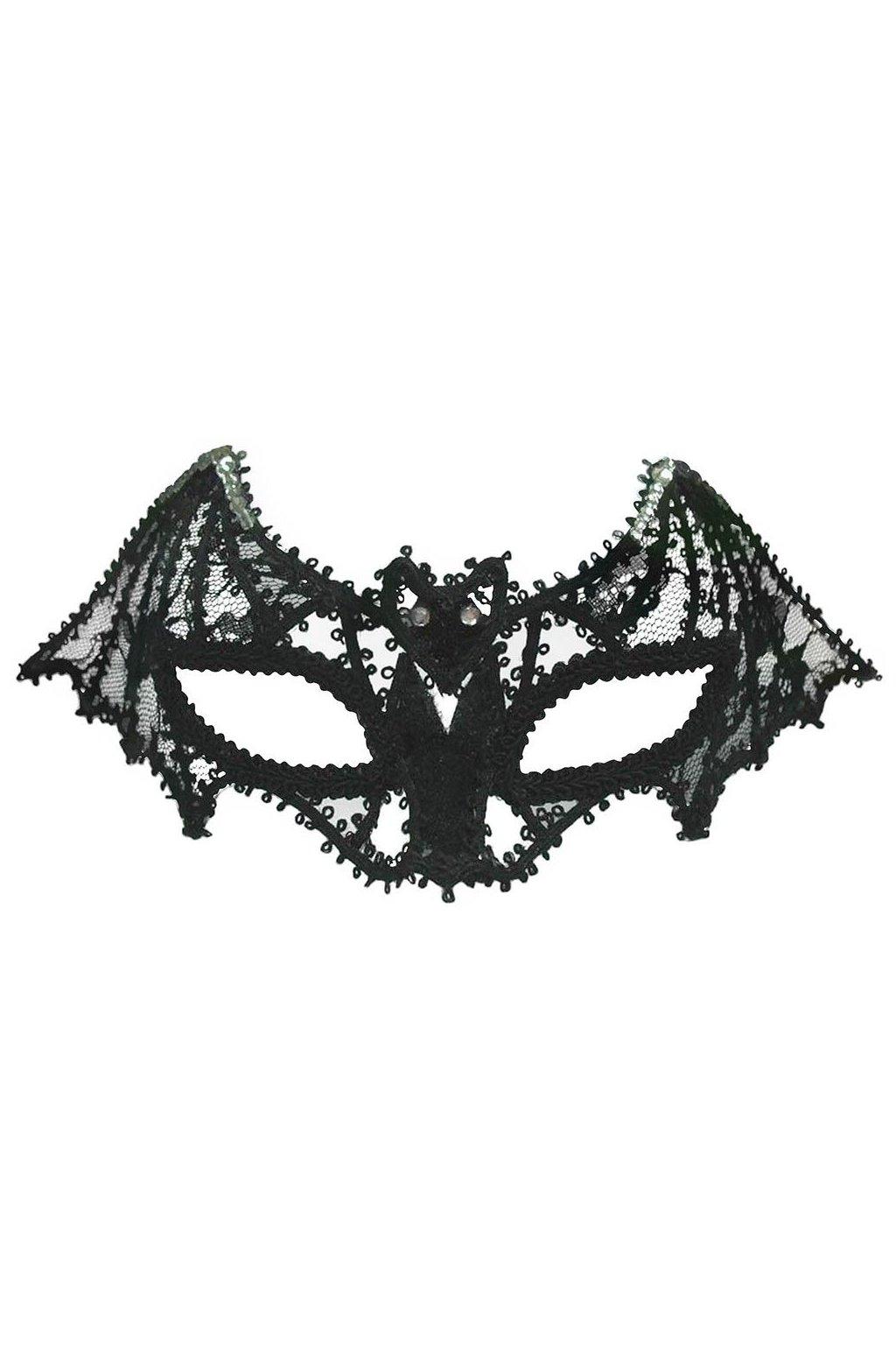 Maska netopýr - luxusní