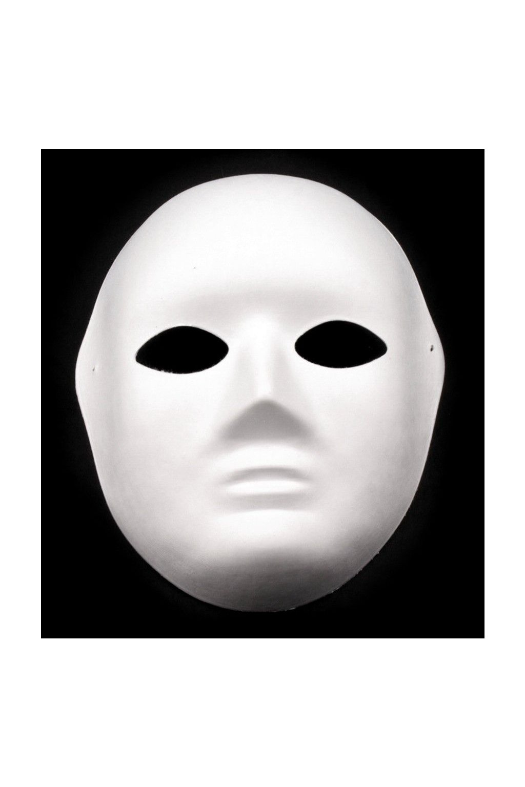 Maska na obličej - bílá