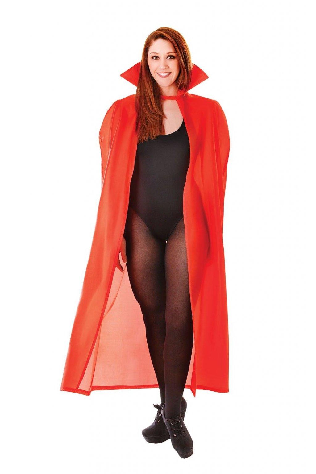 Upírský plášť - červený