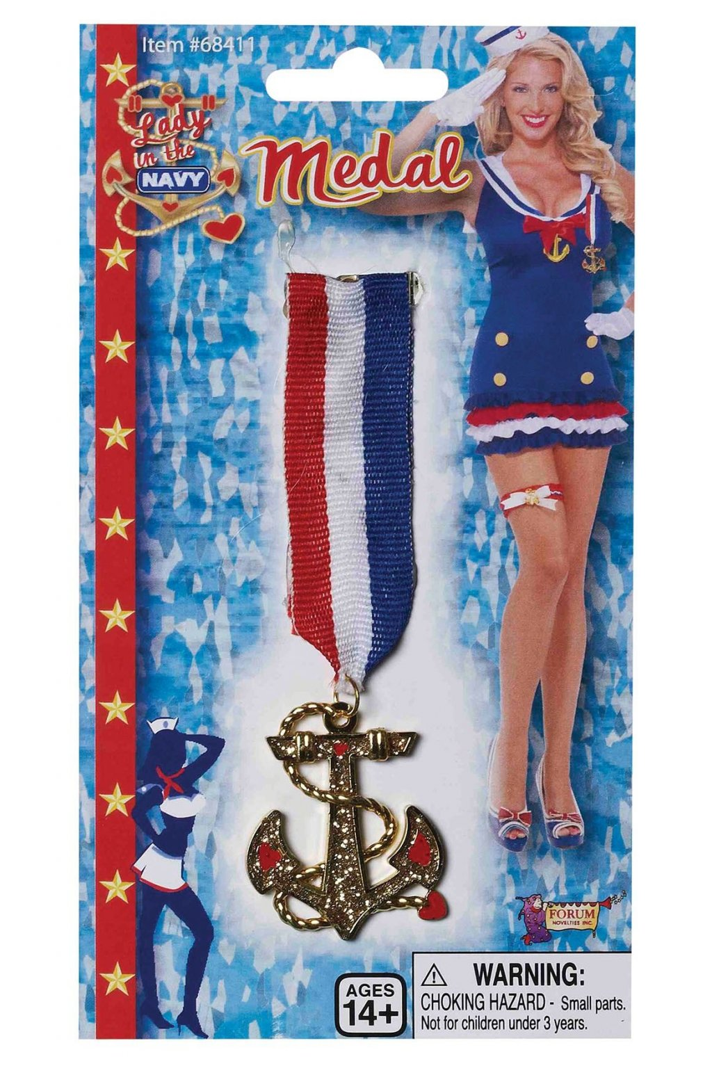 Medaile - námořnická kotva