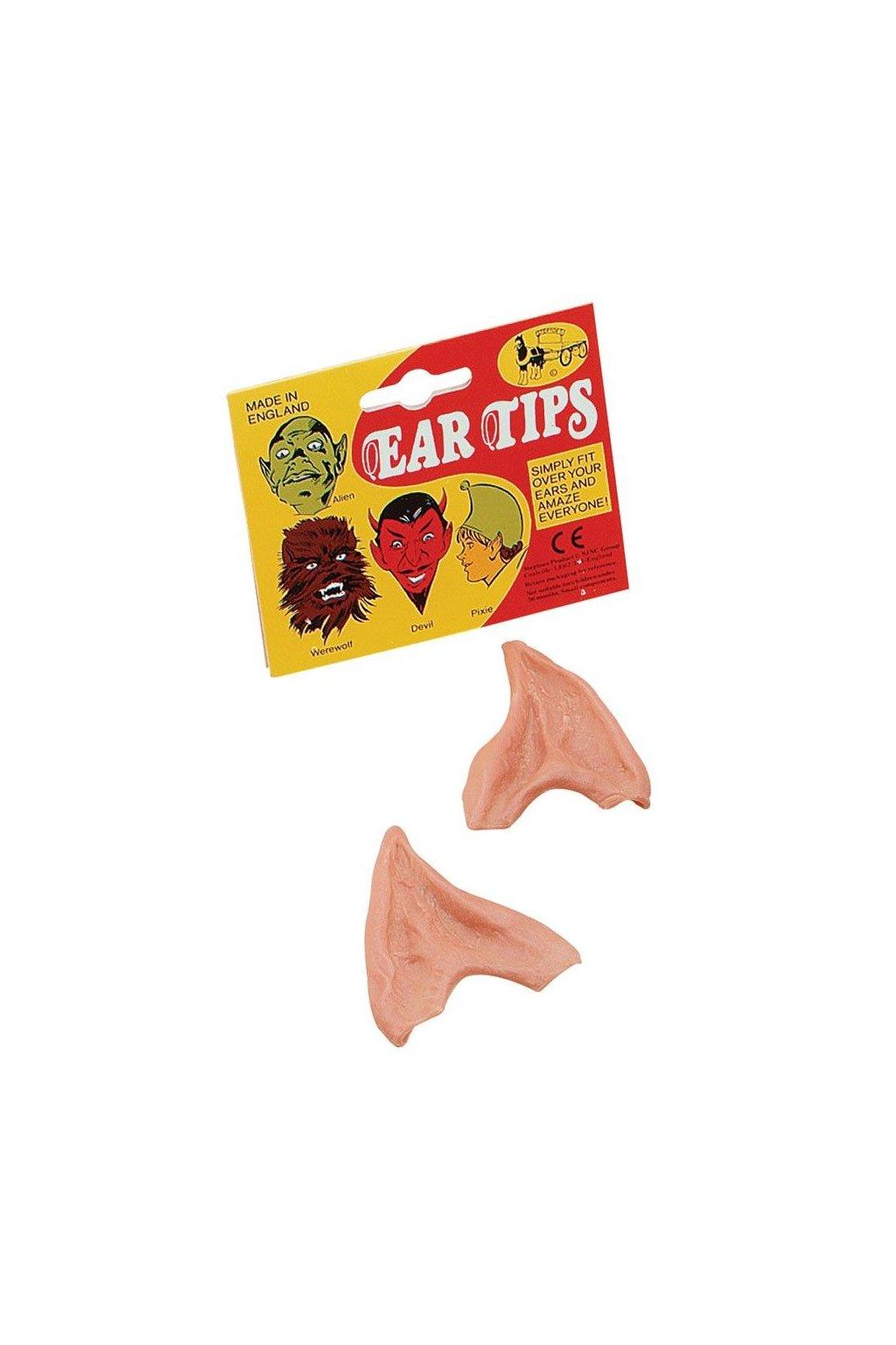 Špičaté uši - elfské
