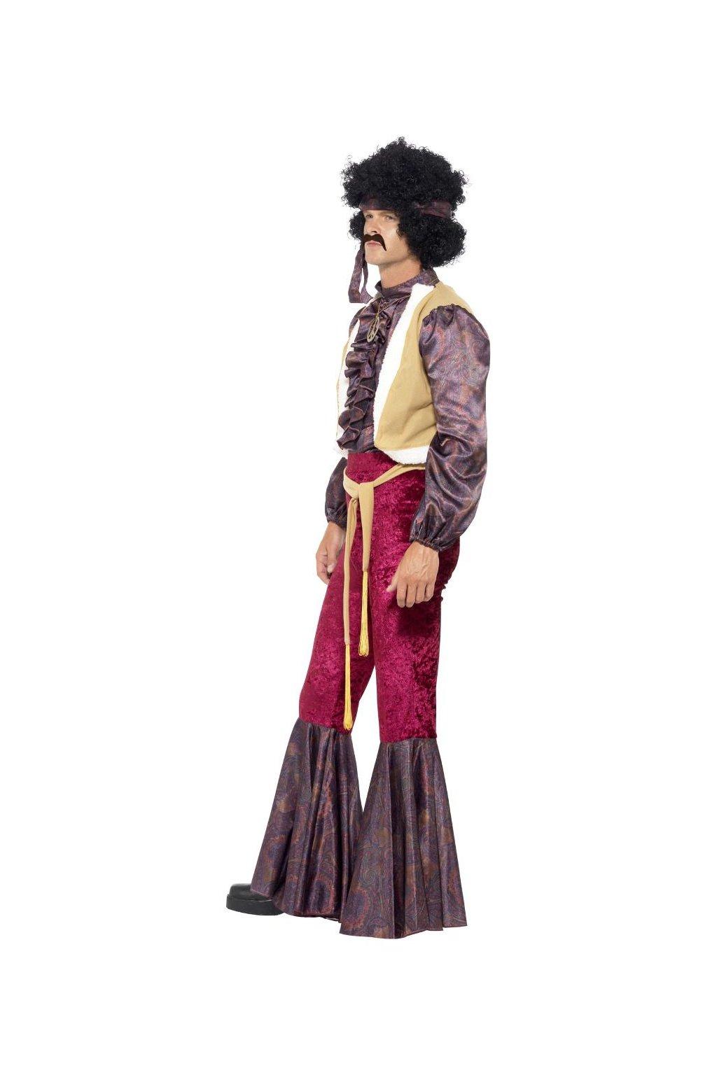 Kostým 70.léta Psychedelic rocker