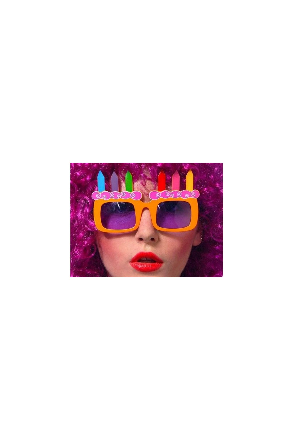 Párty brýle - dort
