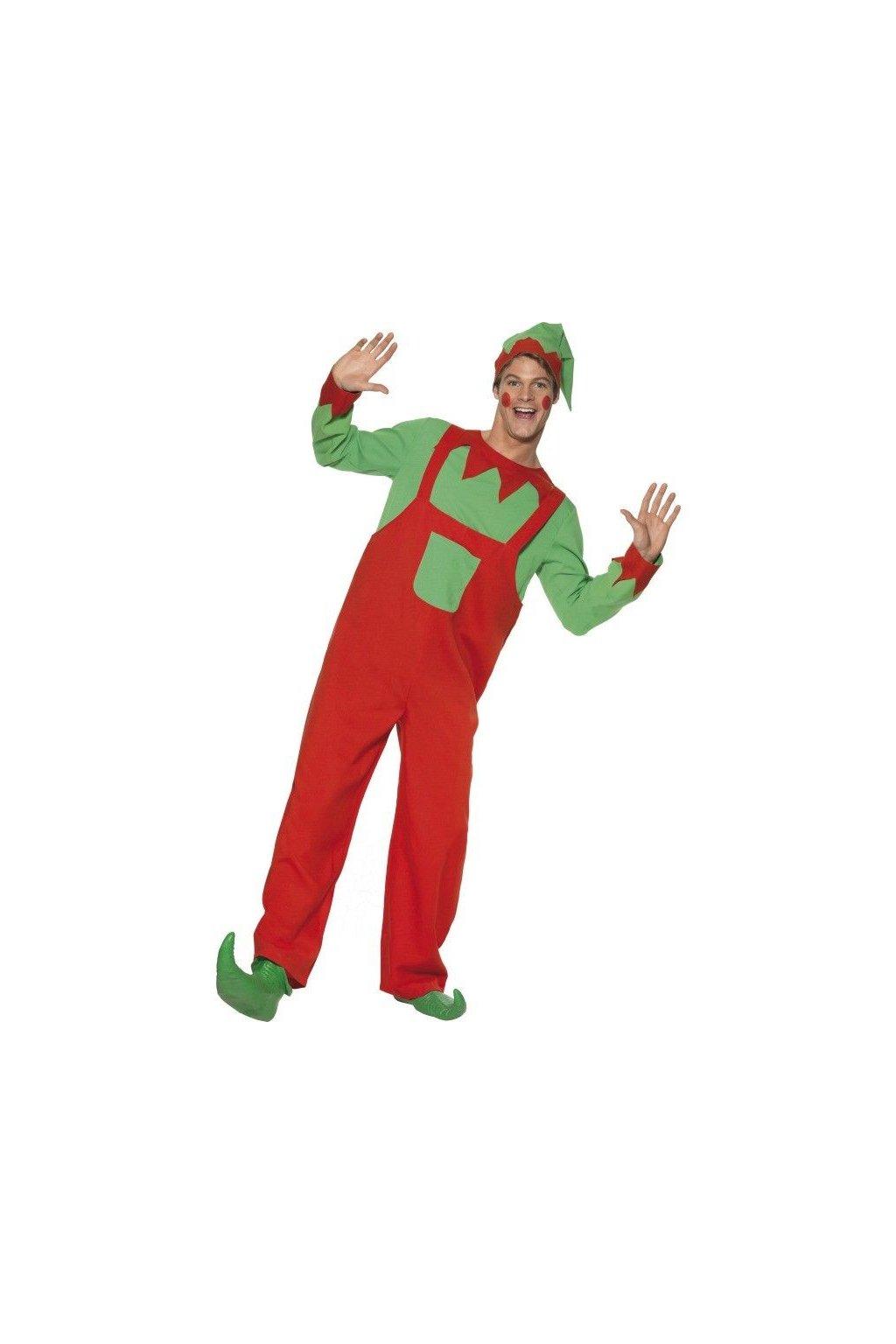 Kostým skřítka Elfa