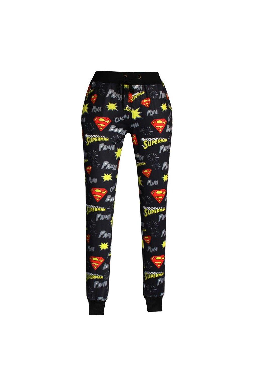 Tepláky pro supermanky