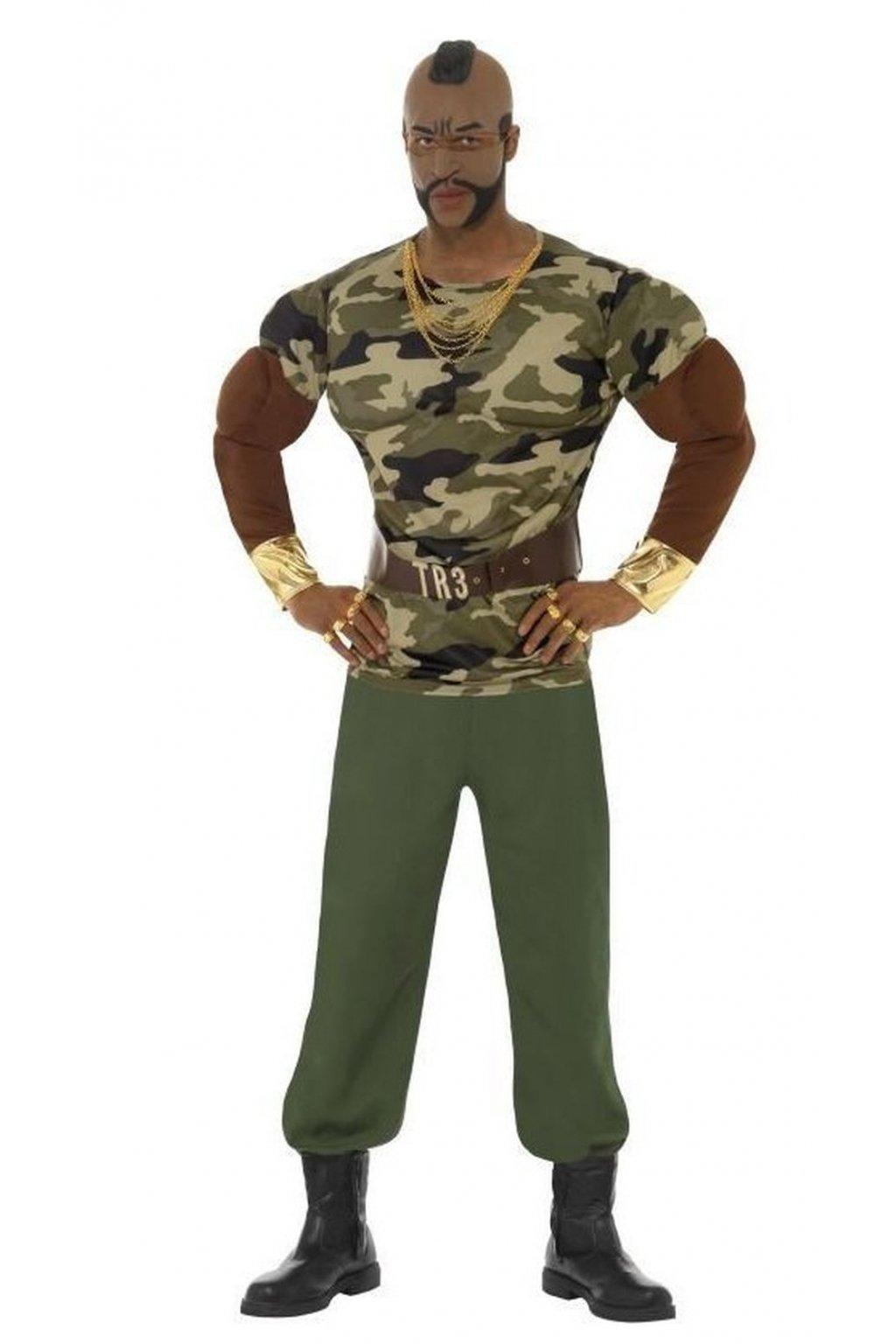 Kostým - Mr. T - premium